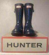Womens Short Hunter Rain Boots Color Navy