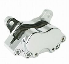 Stampede American Made Brake Caliper 4 Piston Front or Rear Chrome Harley