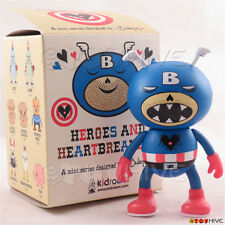 Kidrobot Heroes and Heartbreakers - The Cap'n 3-inch vinyl figure by Ryan Bubnis