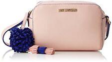 Love MOSCHINO Borsa Small Grain PU Rosa Sacs Baguette Femme Rose (pink) 8x...