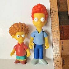 VINTAGE ROD & TODD FLANDERS SIMPSONS PLAYMATES ACTION FIGURES ELECTRONIC NM!!!