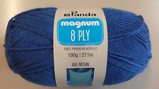 Panda Magnum #1098 Victorian Blue 8 Ply 100g Acrylic