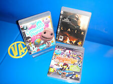 games PLAY 3 - 3 Games playstation 3 LITTLE BIG PLANET-LAIR-MOD NATION RACERS