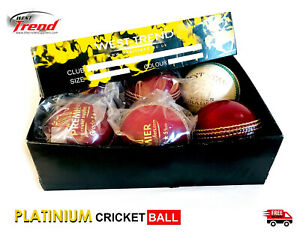 Match Quality cricket balls for 50 overs 5.5oz-A Grade- KOKA STYLE WEST TREND ®
