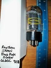Strong Raytheon Black Plate O Getter 6L6Gc Tube