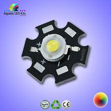 1,5, 10 3w LED de alta potencia chip Esfera pcb-grow Proyectores, Acuario,