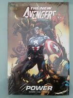 THE NEW AVENGERS Vol 10 POWER HARDCOVER MARVEL COMICS BRAND NEW FACTORY SEALED