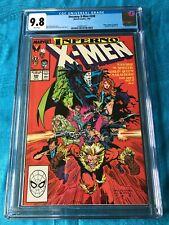 Uncanny X-Men #240 - Marvel - CGC 9.8 NM/MT - Claremont - Mr. Sinister app.