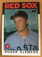 1986 Topps Roger Clemens #661 Baseball Card