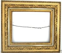 ANTIQUE 19C  MUSEUM QUALITY GILT FRAME FOR PAINTING 20 X 16 INCH  ( i-3)
