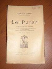 3830 Coppée François : Le Pater