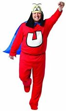 Rasta Imposta Plus-Size Underdog, Red/Blue, Adult Plus
