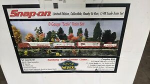 WEAVER Ultra Line O Gauge Snap On Train Set Ltd edition. NEVER USED! Just opened