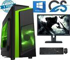 Gaming Pc Computer Bundle Intel Quad Core I5 16gb 1tb Windows 10 2gb Gt710 Win10