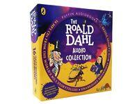 Roald Dahl Audio Book Collection 16 CDs David Walliams Richard Ayoade
