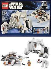 New HOTH WAMPA CAVE - Star Wars Lego 8089 - 297 Pc - SNOWSPEEDER - Zev Senesca