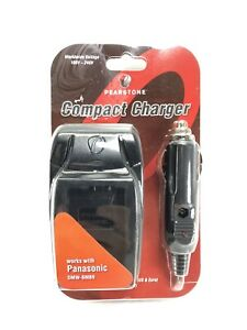 Pearstone Compact Battery Charger Works With Panasonic DMW-BMB9 NEW