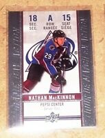 2018-19 Upper Deck Tim Hortons Hockey - Game Day Action Nathan MacKinnon #GDA-15