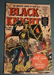 Black Knight #5 - Atlas Comics - Marvel MCU - Eternals - Cover Detached