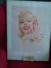 ALBERTO VARGAS-Marilyn Monroe-& hand sgnd by Vargas-From: Mickey Song Collection