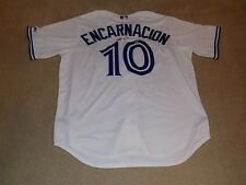 Edwin Encarnacion Signed Game Jersey Toronto Blue Jays MLB