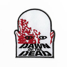 Dawn of the Dead Logo Patch Embroidered Badge Horror Movie Night Living Zombies