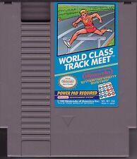 WORLD CLASS TRACK MEET ORIGINAL NINTENDO GAME CLASSIC SYSTEM NES HQ
