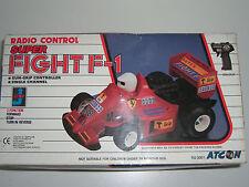 90's Vintage R/C Toy Radio Control Super Fight F1 Formula Racing Car Mib