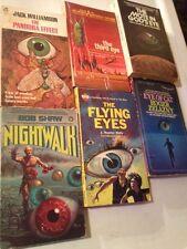 THE BIG EYE OF SCI FI! Sci Fi Lot Larry Niven Jack Williamson Roger Zelazny