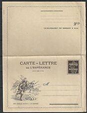 France Carte-Lettre de L'Espérance not sent