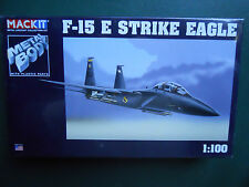 ARMOUR FRANKLIN MINT MACKIT KIT METAL 1/100 AVION F-15 E STRIKE EAGLE  MIB