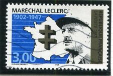 TIMBRE FRANCE OBLITERE N° 3126 MARECHAL LECLERC /  Photo non contractuelle