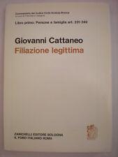 DIRITTO CATTANEO GIOVANNI FILIAZIONE LEGITTIMA ART. 231-249