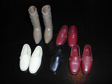 Ken Brad Boots Loafers Shoes Mod Vintage Barbie Mattel
