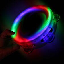 Sensory Led Round Light Up Flashing Tambourine Shaking Sensory Toy