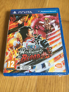 One Piece Burning Bloody PlayStation PS Vita New & Sealed