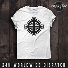 Celtic Cross T Shirt Irish Ireland Britain Religion Christian Paddy UK England
