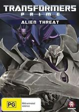 TRANSFORMERS PRIME: ALIEN THREAT - BRAND NEW & SEALED ANIMATED DVD (5 EPISODES)