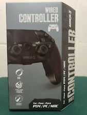 FAST FREE SHIP Brand NEW Armor 3 Armor3 Wired USB Game Controller for PS4 PC Mac