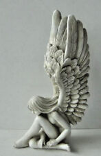 Stunning Resin  Cherub ~ Lady  Angel Statues Ornament  Figurine With Large Wings
