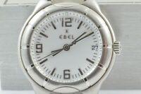 EBEL E-TYPE HERREN UHR 9187C41 QUARTZ 39MM OHNE ARMBAND