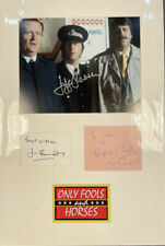 More details for only fools and horses hand signed autographs
