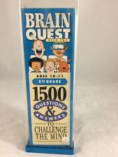 Brain Quest: 1500 Questions and Answers to Challenge the Mind/5th Grade/Ages 10-