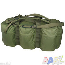 VERDE Militare Tactical Assault Borsone 100l Deployment Bag Zaino