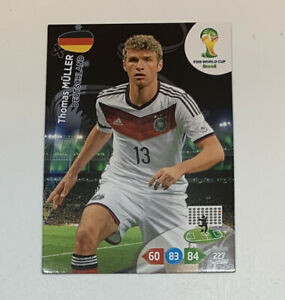 Panini Adrenalyn XL Thomas Mueller Germany FIFA World Cup 2014 Brasil