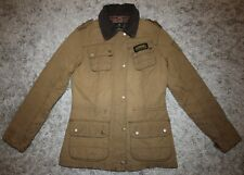 Barbour International HAILWOOD Waxed Jacket - UK 10 [3906]