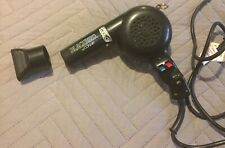 Conair Pro Blackbird 2000W Hair Dryer BB075N Straightening AC 4-way Heat FS