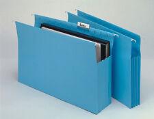 SUSPENSION FILE MARBIG EXPANDING GUSSET BLUE PK20