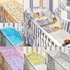 3tlg. Bettwäsche Set inkl. Nestchen für Babybett 140x70 NEU