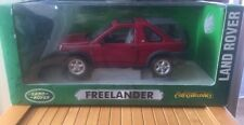1:18 Ertl Collectables LAND ROVER FREELANDER RED 1/18 4x4 Off Road Car
